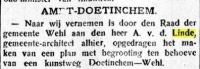 15 mei 1909 De Graafschapbode